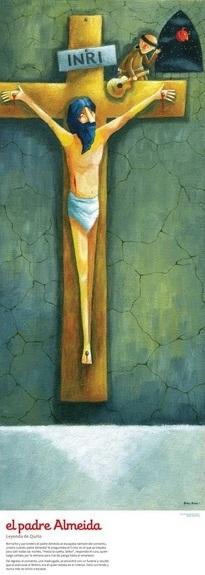 El Padre Almeida Ilustracion Roger Ycaza